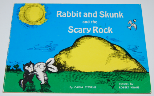 Rabbit and skunk scary rock