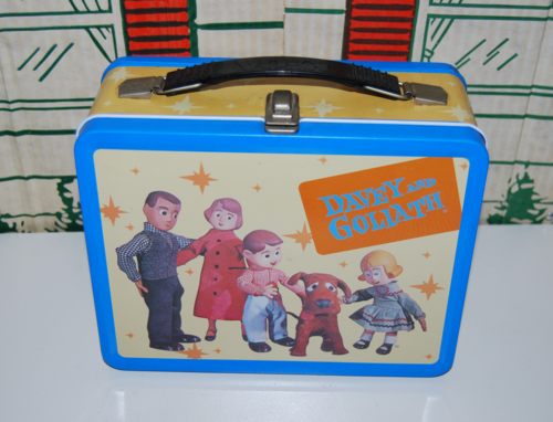 Davey & goliath lunchbox