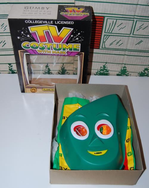 Gumby halloween costume 3