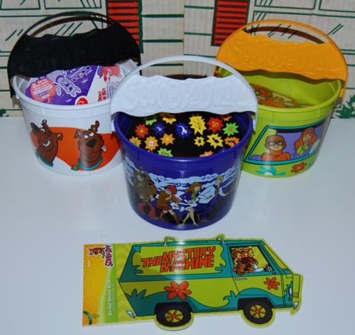 Scooby doo halloween buckets