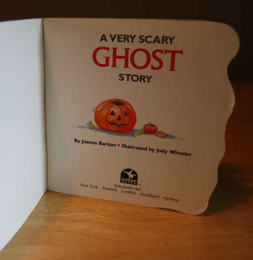 A very scary ghost story 1