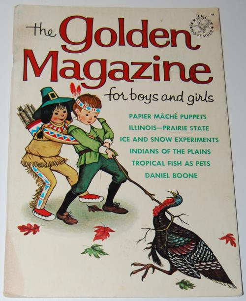 Golden magazine november 1964