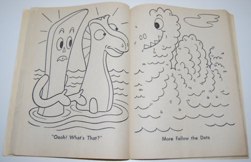 Gumby coloring book 3