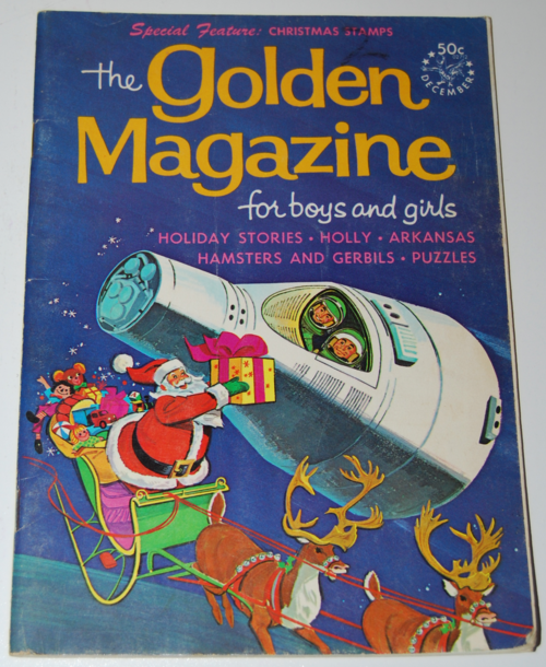 Golden magazine december 1967
