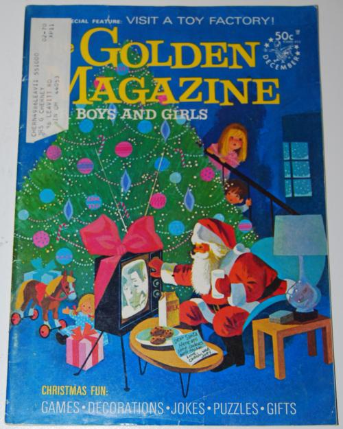 Golden magazine december 1969