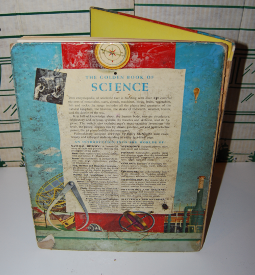 Golden book of science back
