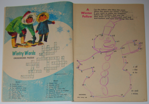 Golden special winter 1971 puzzles