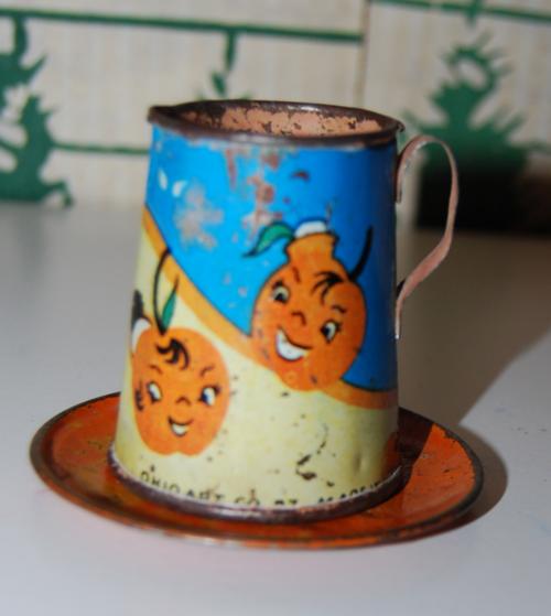 Ohio art orange pitcher