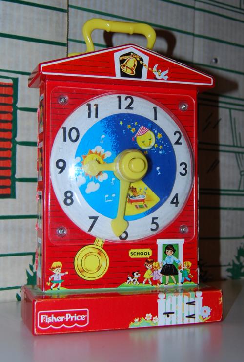 Fisher price musical clock 2