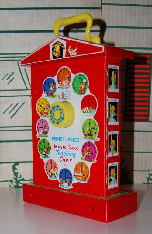Fisher price musical clock 4
