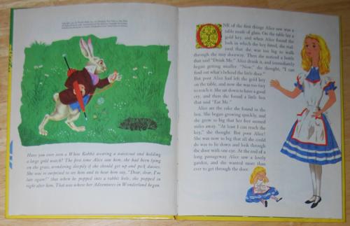 Alice in wonderland wonder books 1951