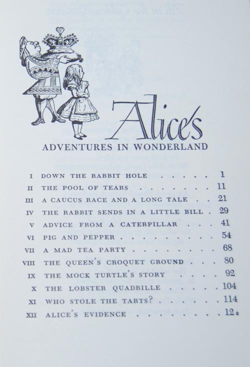 Vintage alice in wonderland 1977
