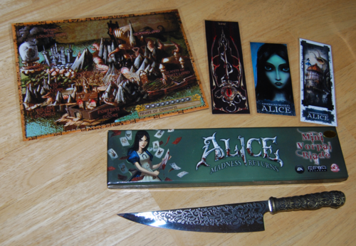 American mcgee's  alice vorpal blade