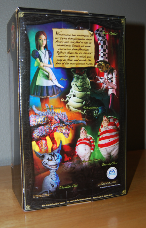 American mcgee's goth tower exclusive alice box