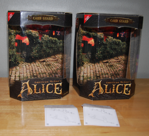 Am mcgee's alice card guards