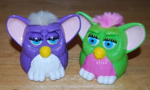 Furby mcd blink prize