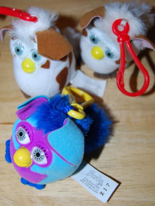 Furby mcd clip prizes 1