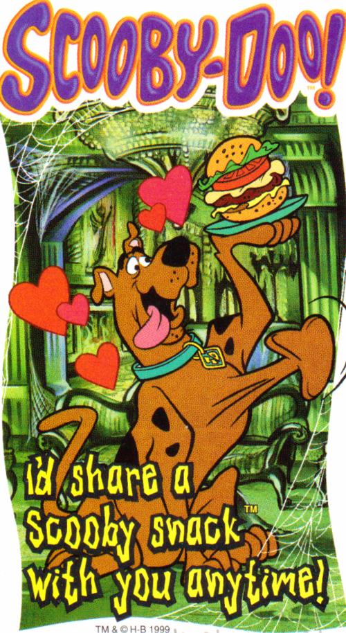 Scooby doo valentine