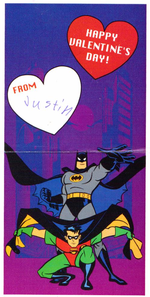 Batman valentine