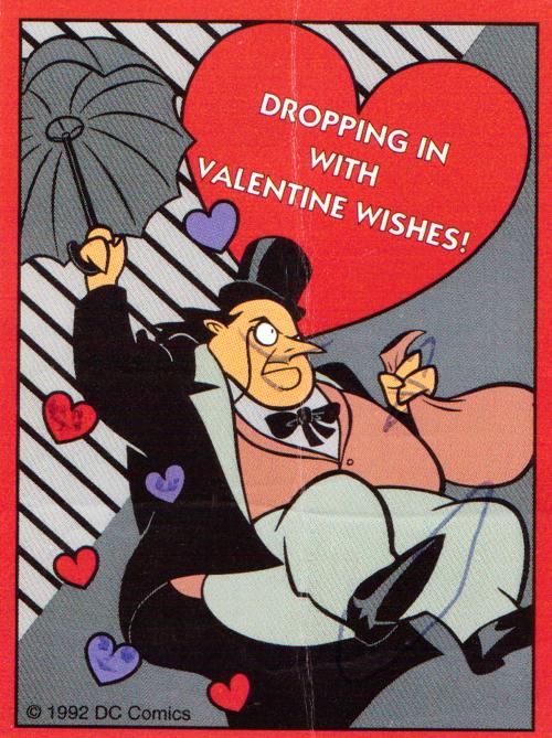 Batman valentine 1992 penguin