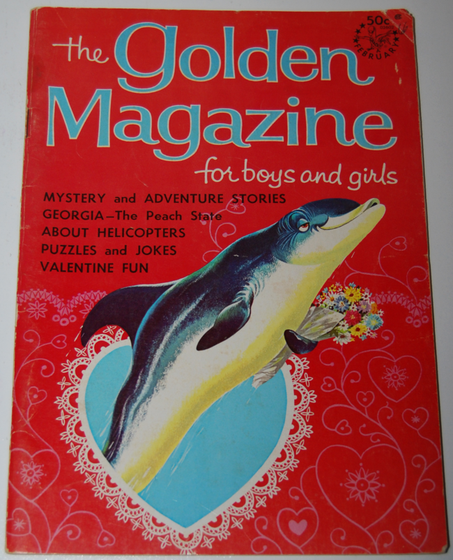 golden magazine ~ february 1966
