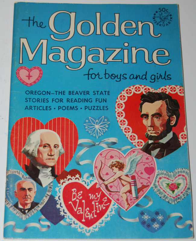 golden magazine ~ february 1967