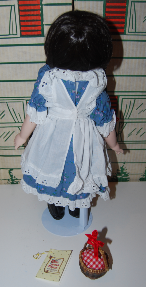 Little red riding hood doll back