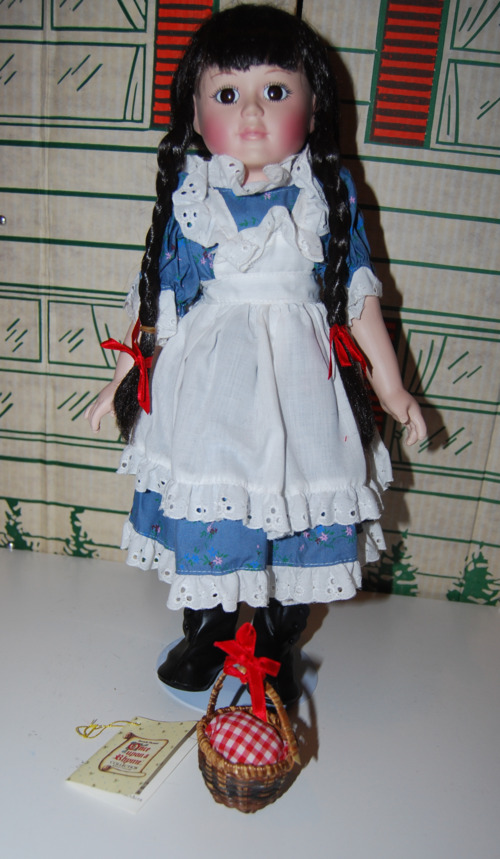 Little red riding hood doll front