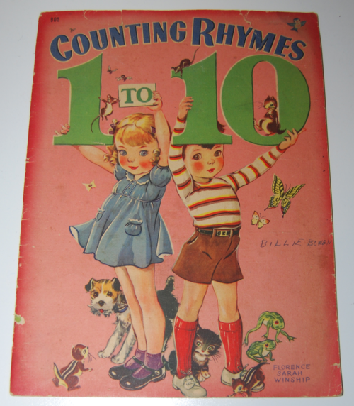 Counting rhymes 1 to 10