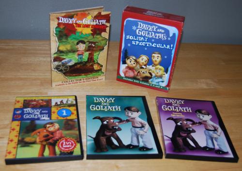 Davey & goliath dvds