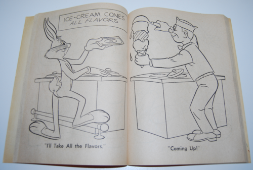 Bugs bunny coloring book 3