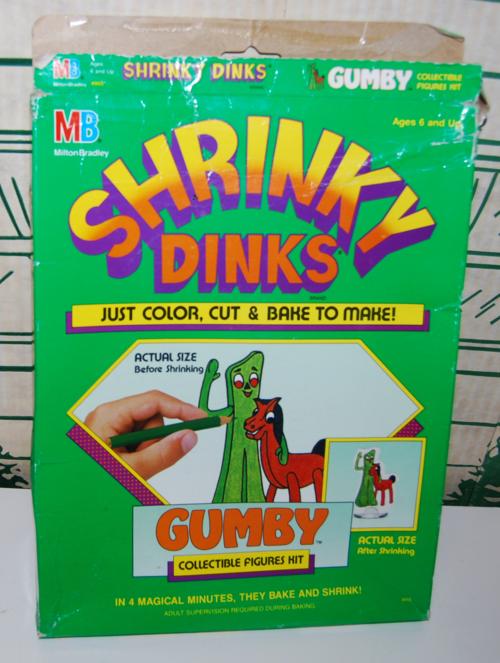 Gumby shrinkydinks