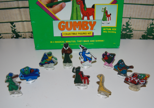 Gumby shrinkydinks 3