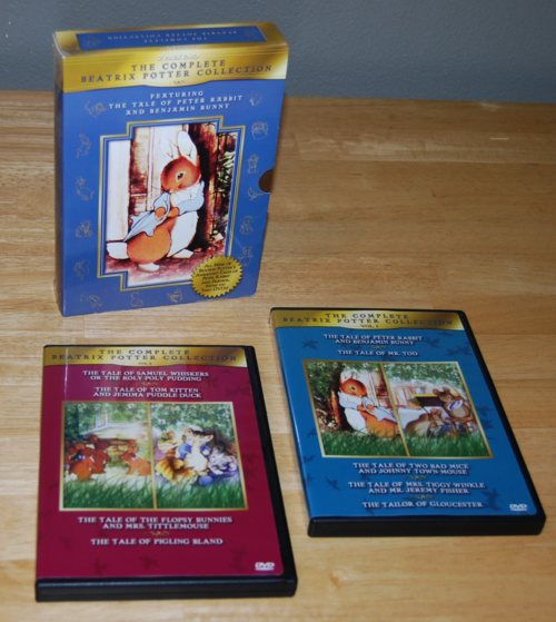 Beatrix potter dvd collection