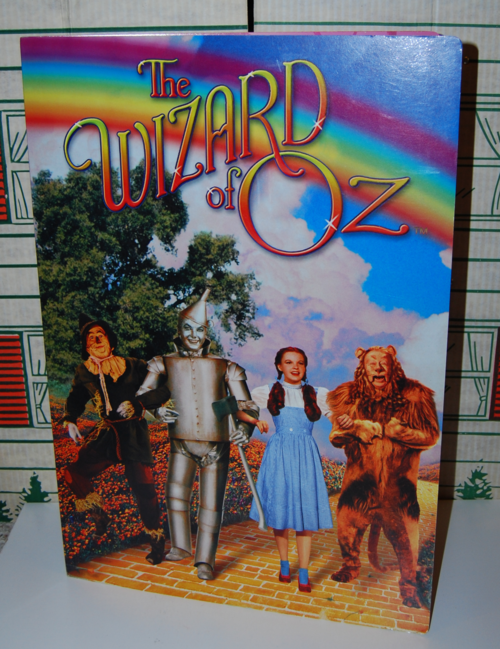 Giant wizard of oz book