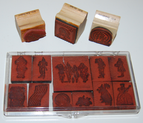 Oz rubber stamps