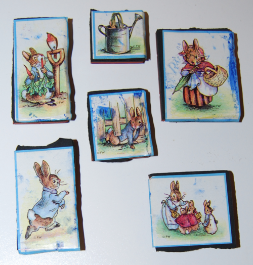 Peter rabbit rubber stamps 1