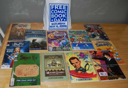 Free comic book lot