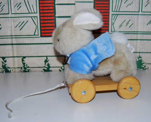 Peter rabbit pull toy