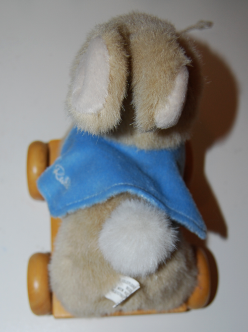 Peter rabbit pull toy 2