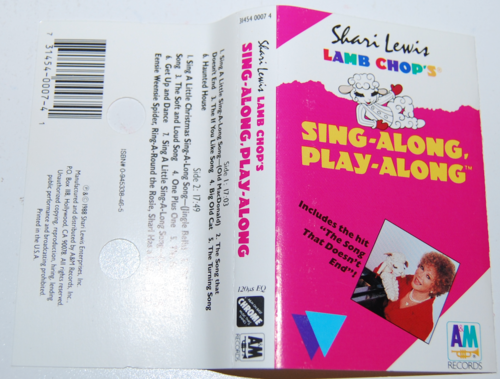 Shari lewis lambchop singalong tape 2
