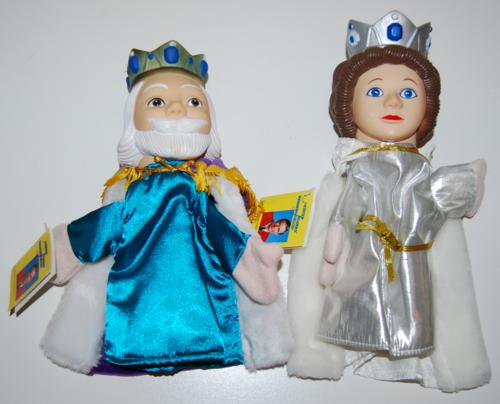 Neighborhood puppets friday & sarah