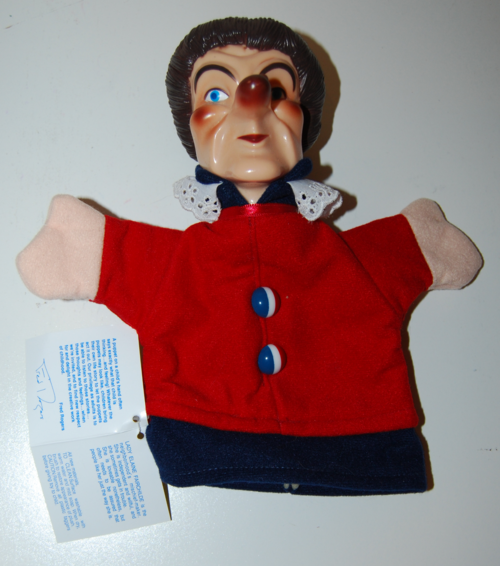 Neighborhood puppets lady elaine fairchild
