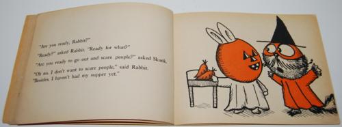 Rabbit and skunk spooks 4
