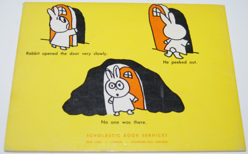 Rabbit and skunk spooks 2
