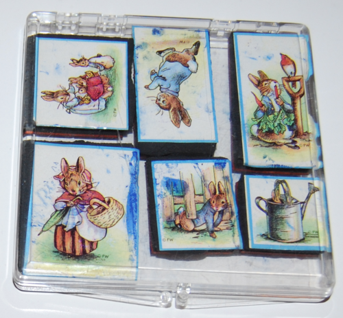 Peter rabbit rubber stamps