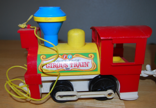 Fisher price circus train 5