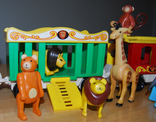 Fisher price circus train 6