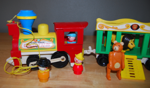 Fisher price circus train 7