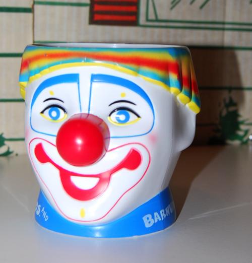 Barnum circus clown cup 3